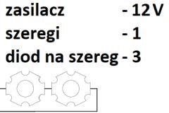 12V 1 szereg 3 diody