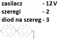 12V 2 szeregi 3 diody