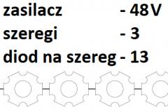 48V 3 szeregi 13 diod