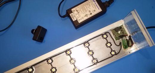 58. Akwarium 112L v3 Arduino + potencjometr