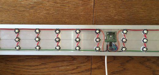 65. 4K akwarium 160-200L - przykład oświetlenia z użyciem arduino